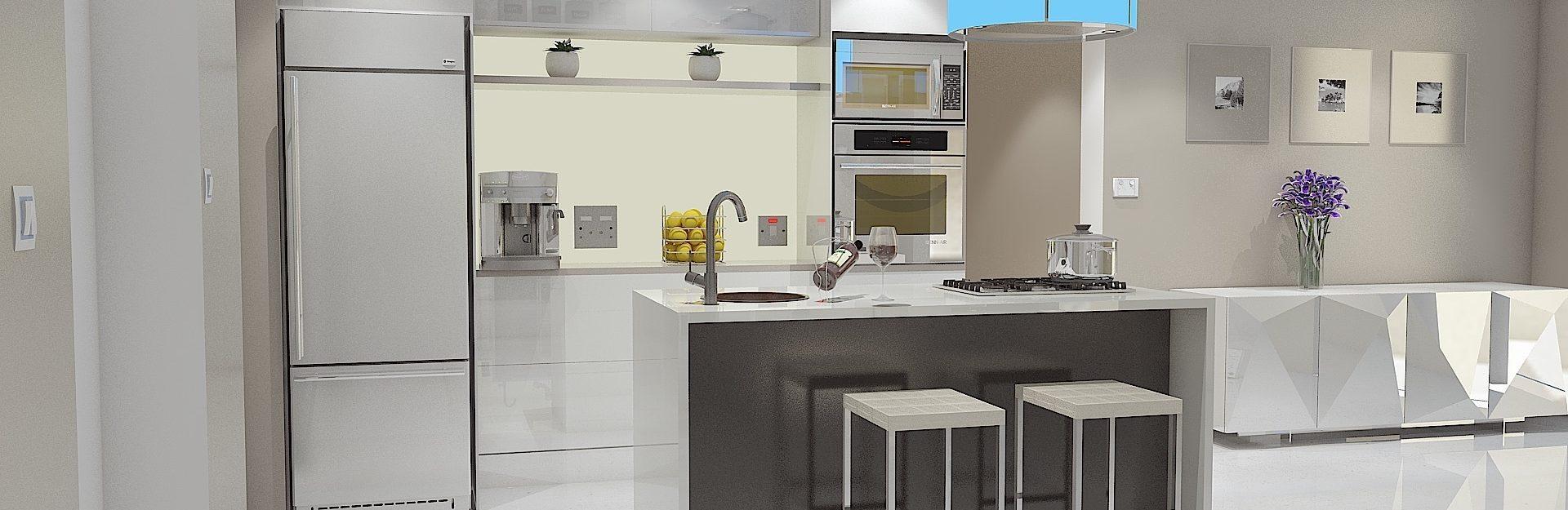 avatud köögi planeerimine